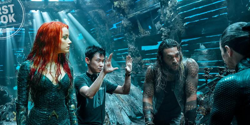 Aquaman dans Entertainment Weekly