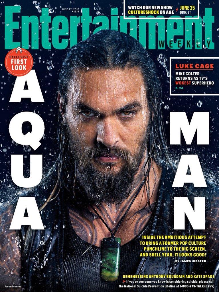 Aquaman dans Entertainment Weekly.