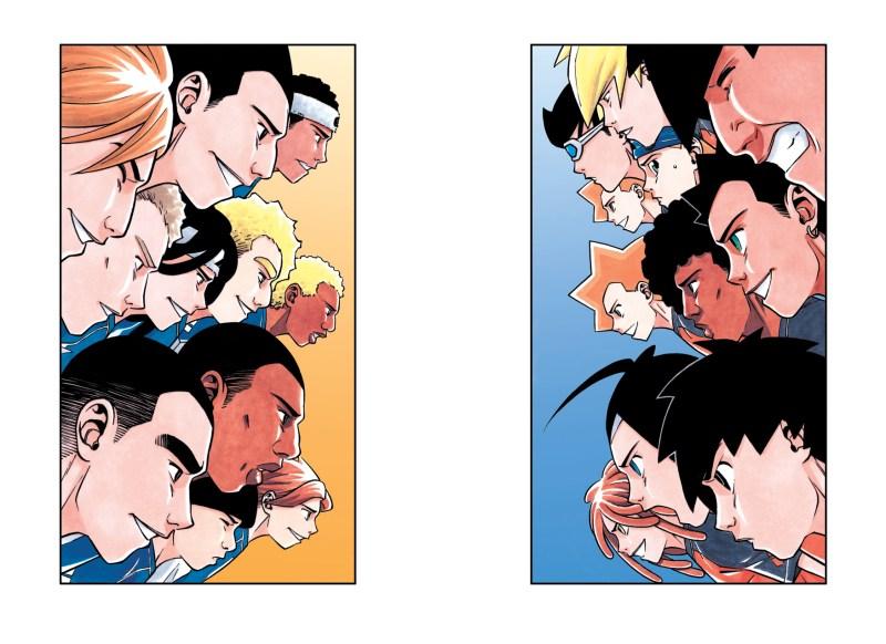 L'Équipe Z, l'affrontement final (Source : Studio Makma)