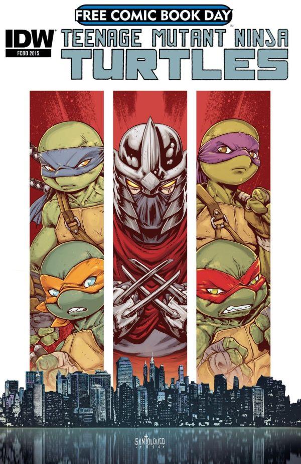 HiComics, Free Comic Book Day 2018 : TMNT