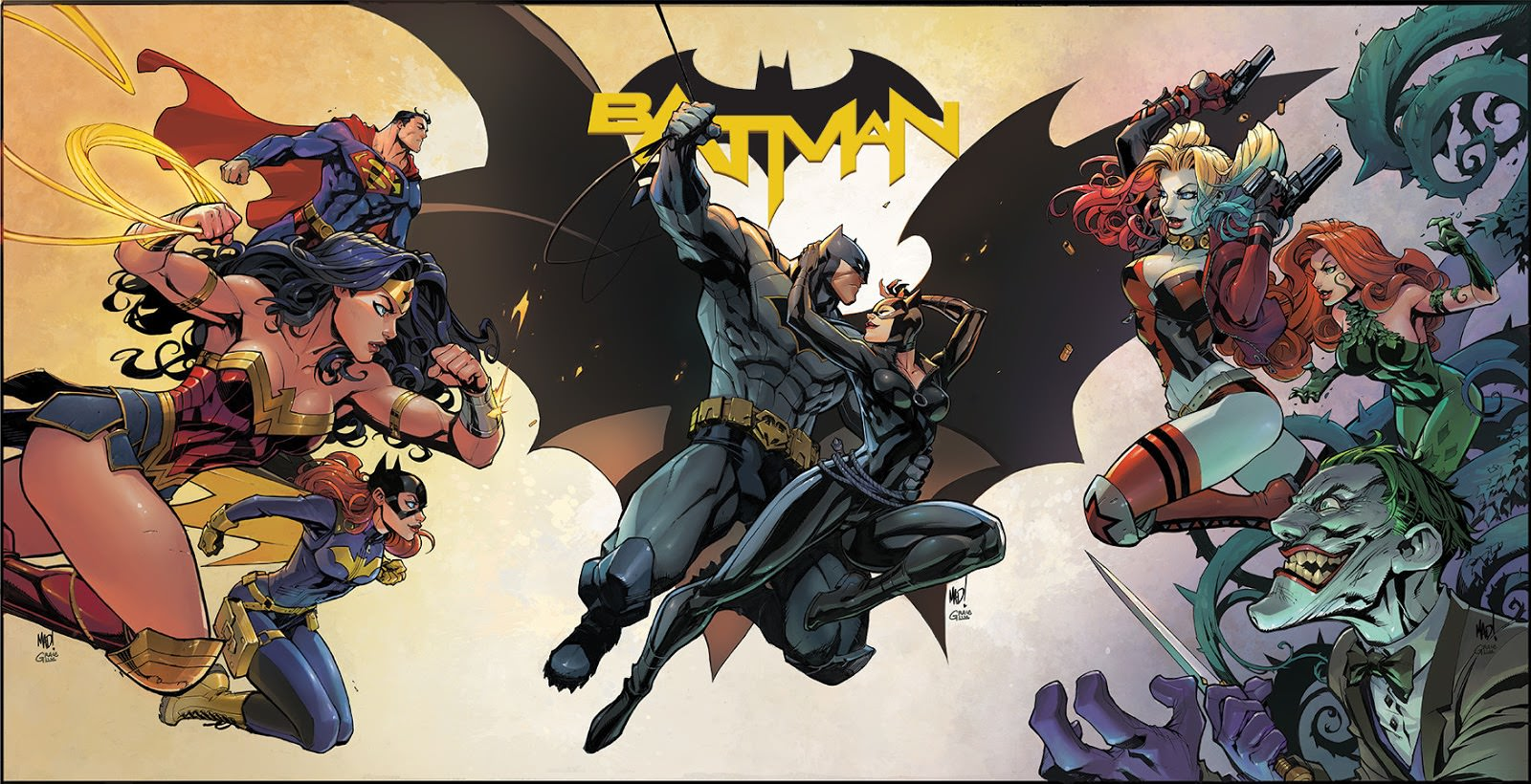 Batman #50, couverture alternative de Frank Cho