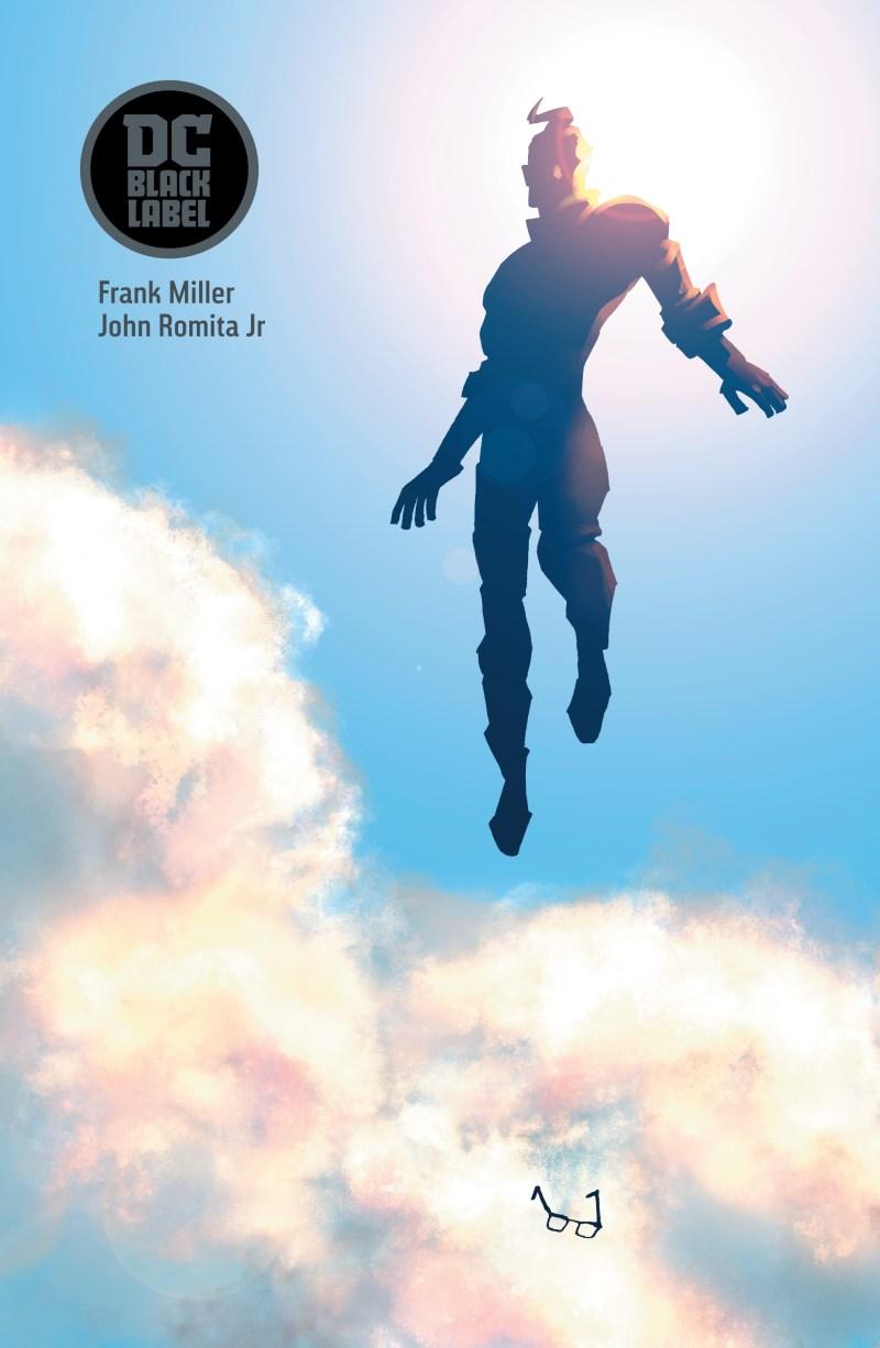 Superman: Year One, couverture de Frank Miller