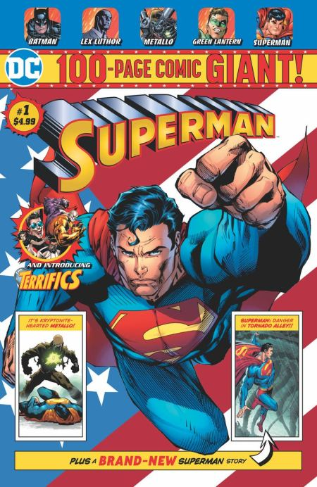 Superman Giant #1 avec Tom King et Andy Kubert