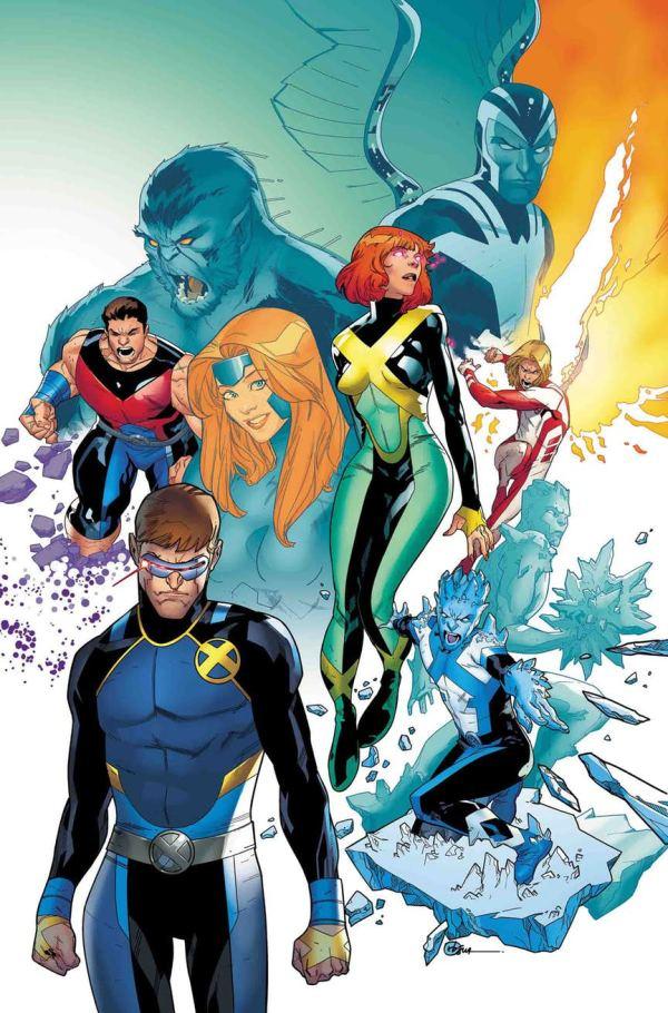 X-Men Blue #36 (Marvel Comics) par R.B. Silva
