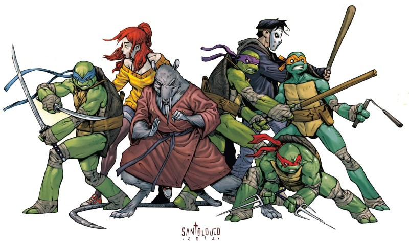Teenage Mutants Ninja Turtles par Mateus Santolouco