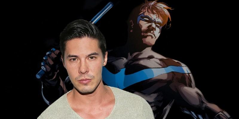 Lewis Tan dans le rôle de Nightwing