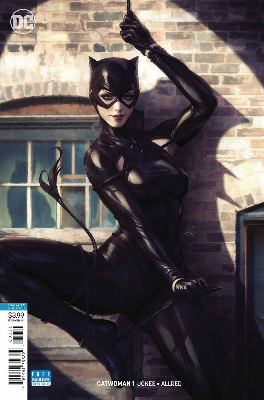 "Catwoman #1, couverture alternative par Stanley ""Artgerm"" Lau"