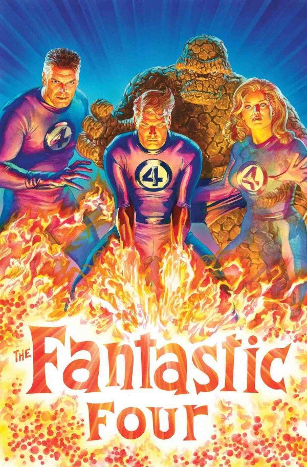 Fantastic Four #1 -couverture variante par Alex Ross