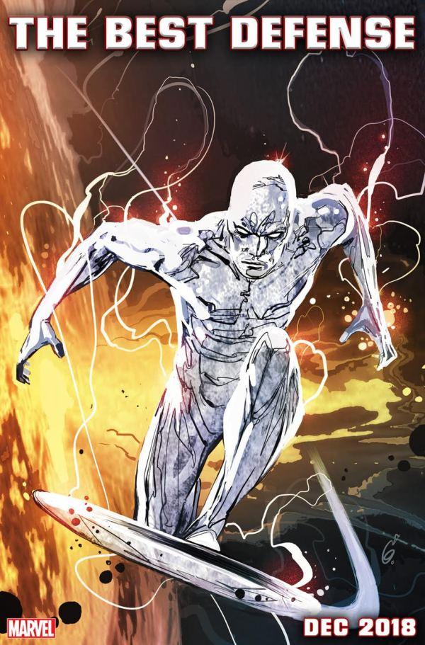 Silver Surfer: The Best Defense