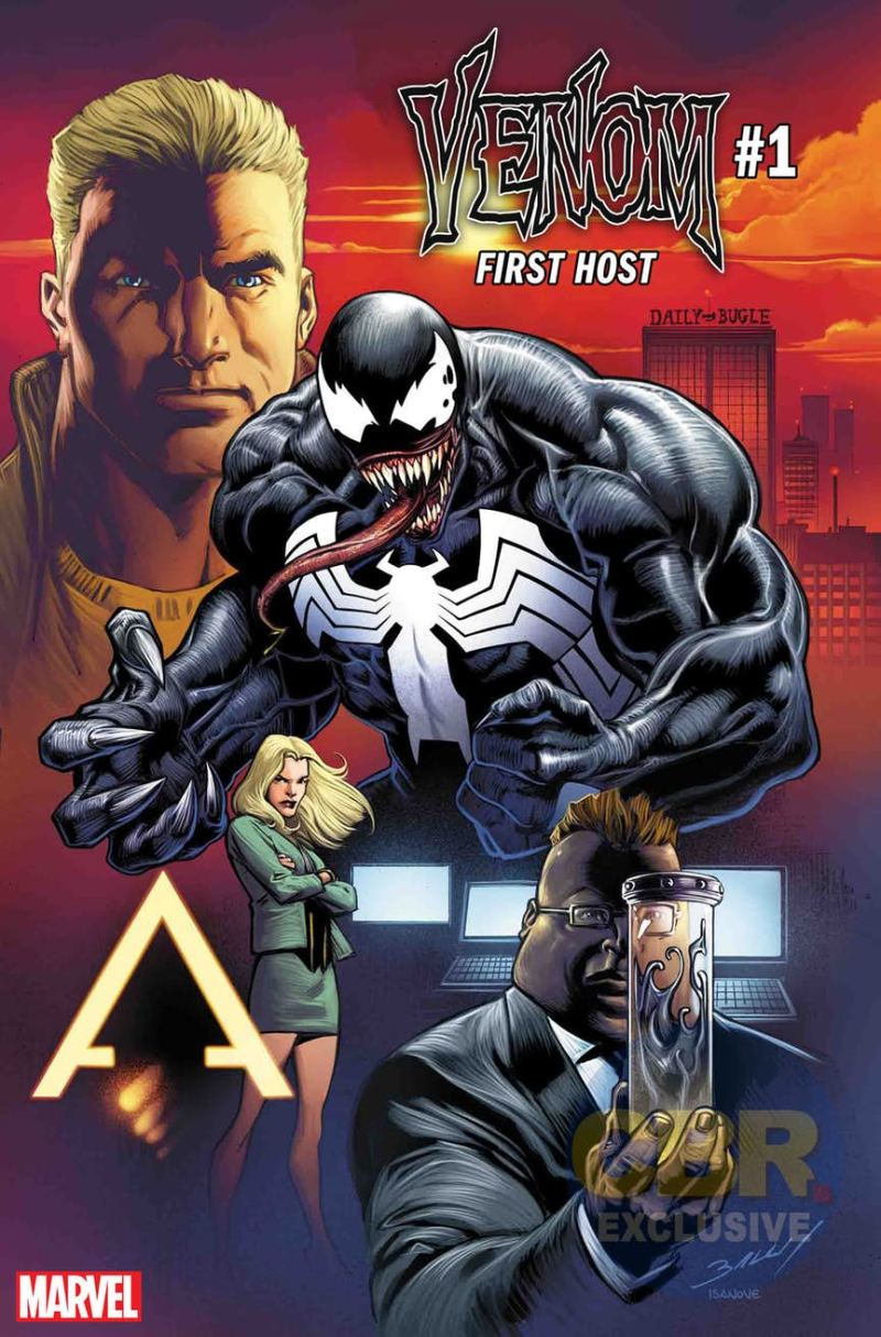 Venom: First Host #1 par Mark Bagley (Marvel Comics)