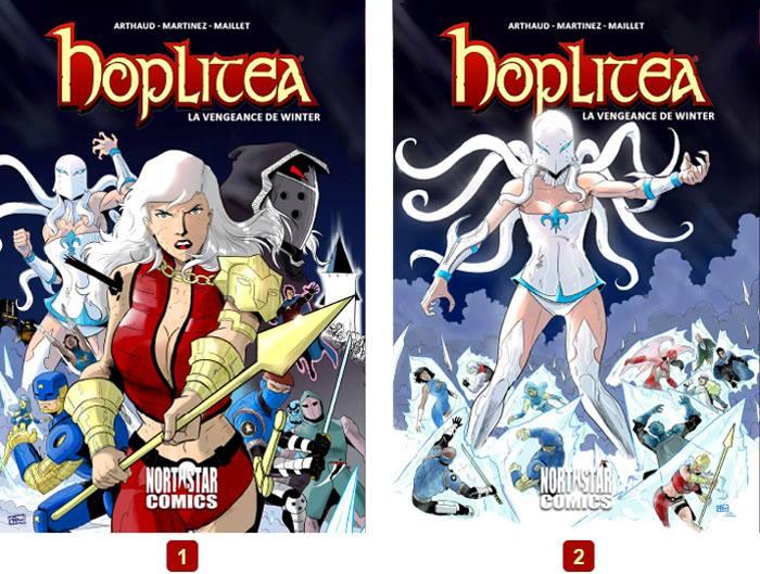 Hoplitéa, un comic book français