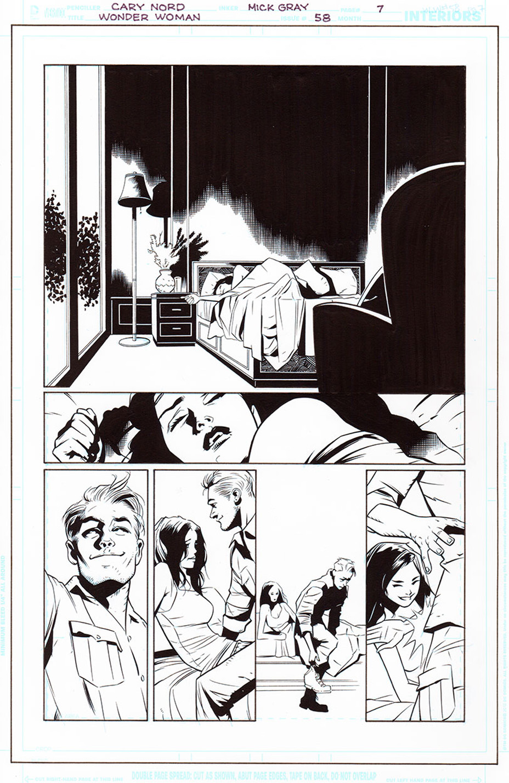 Wonder Woman #58, par G. Willow Wilson, Cary Nord et Mick Gray