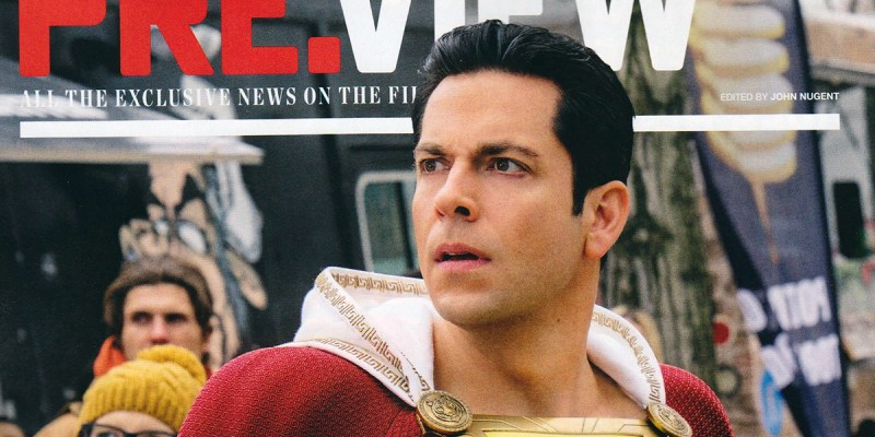 Shazam! en couverture de Preview