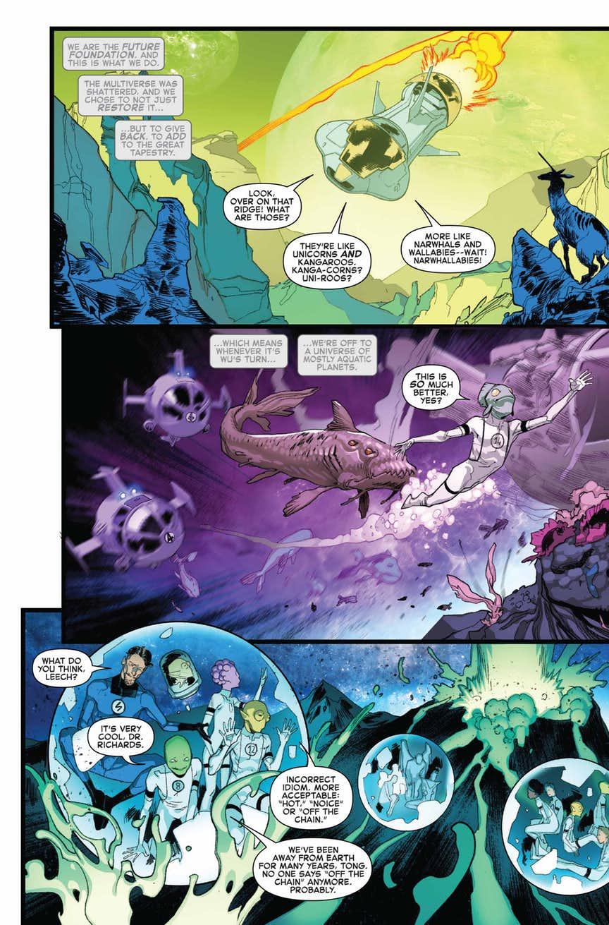 Fantastic Four #2 par Dan Slott et Sara Pichelli