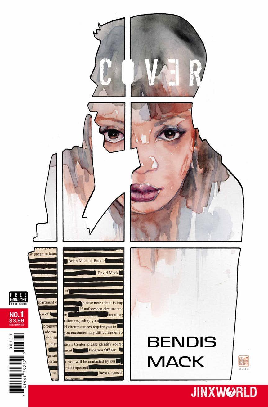 Cover #1, par Brian Michael Bendis et David Mack