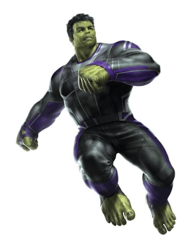 Professor Hulk dans Avengers 4