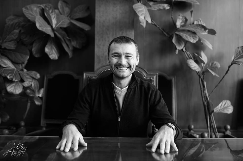 Laurent Arthaud, scénariste du comic book français Hoplitéa.