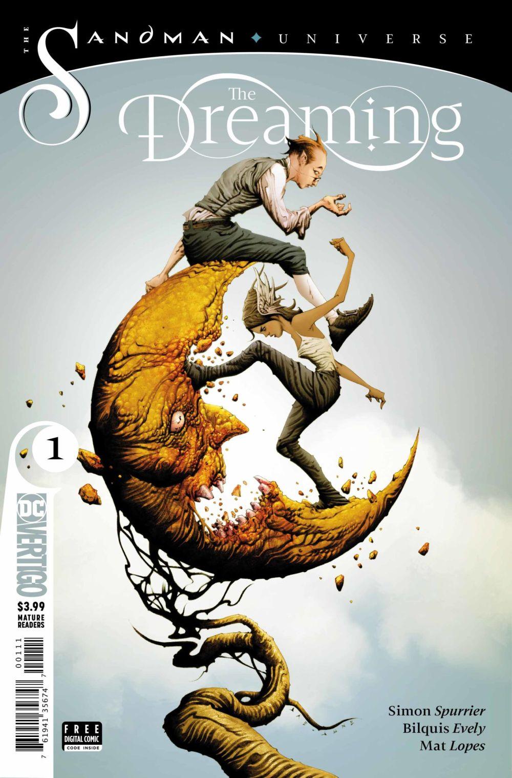 The Dreaming, la couverture de Jae Lee et June Chung