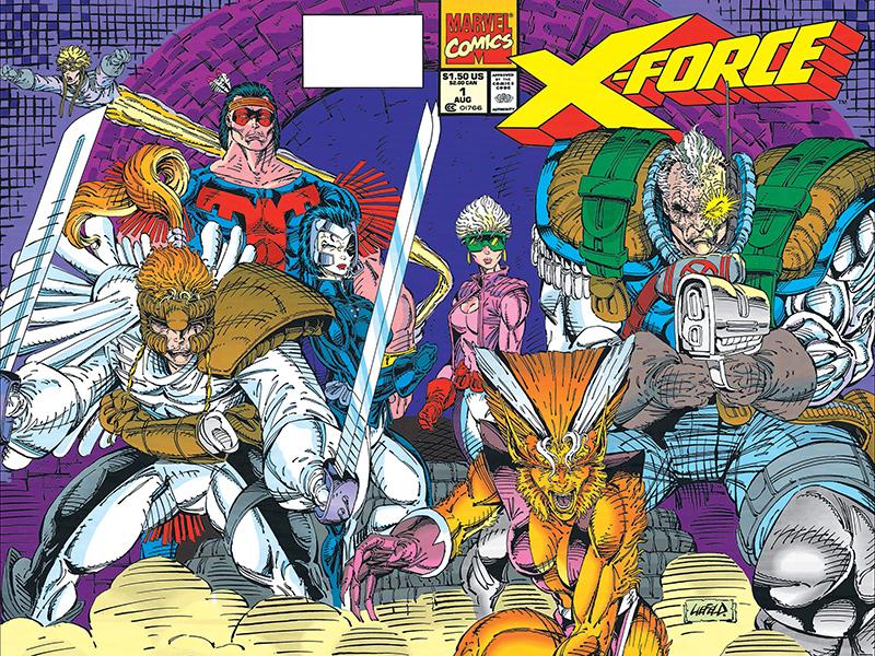 X-Force #1 par Rob Liefeld