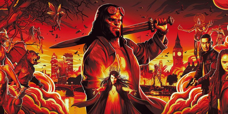 Hellboy (2019) : la seconde affiche officielle