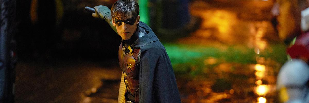 Robin dans la série Titans pour DC Unisverse