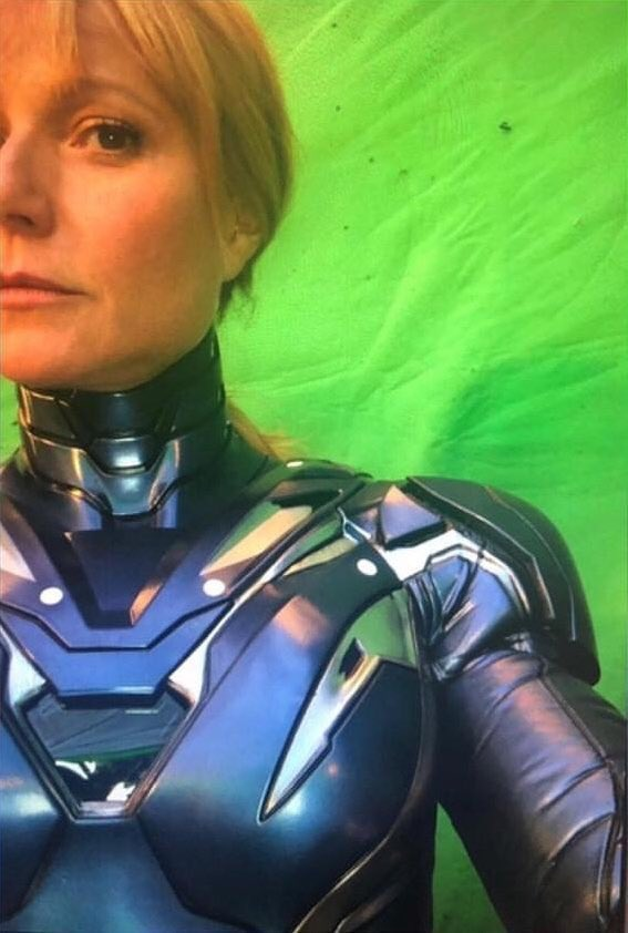 GwynethPaltrow's Rescue Armour Suit for Avengers 4