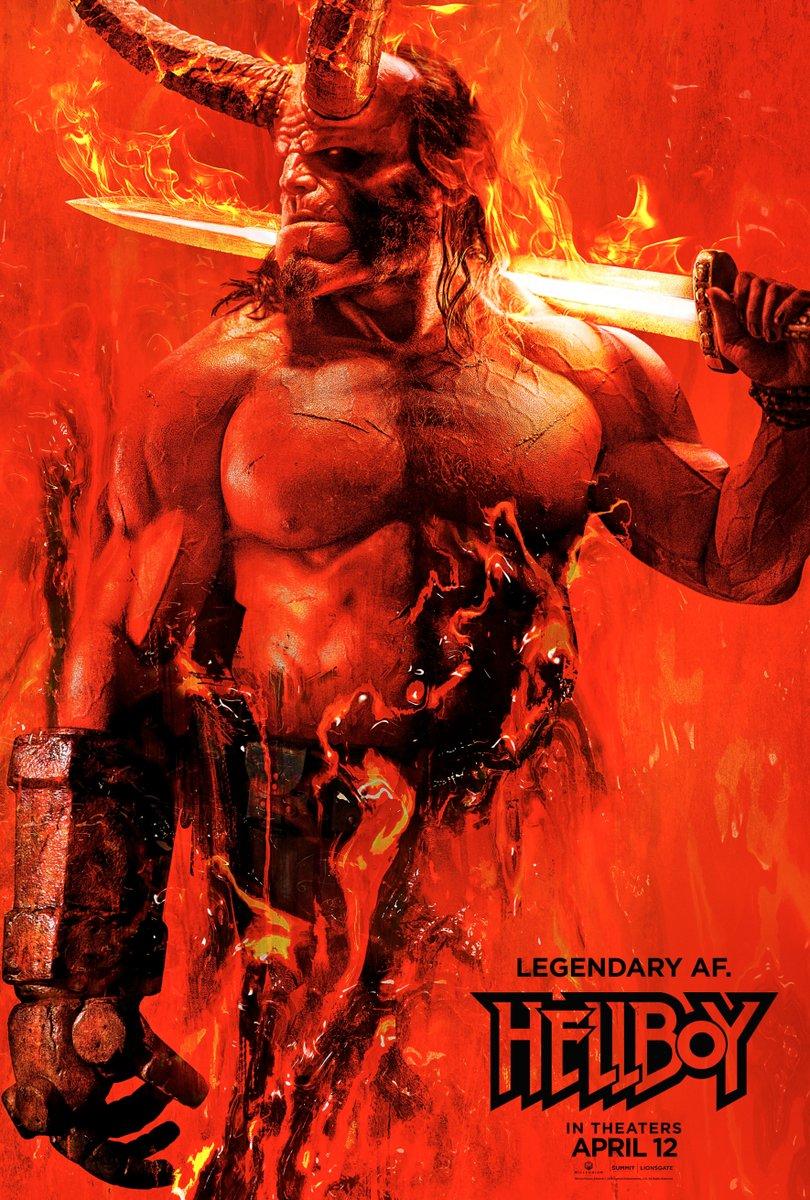 Affiche Hellboy (2019)