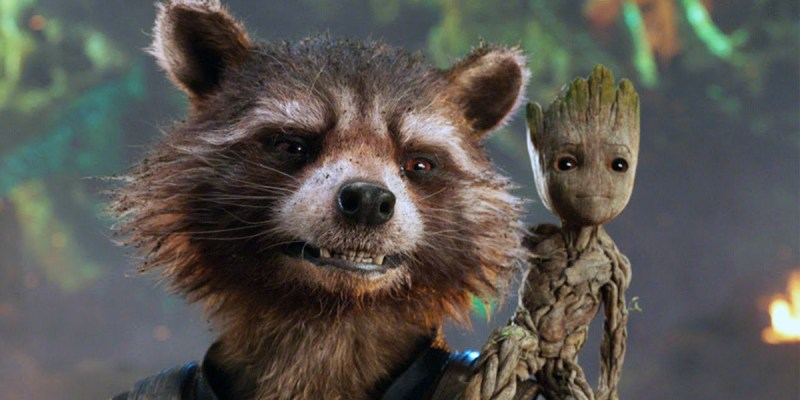 Rocket Raccoon et Groot