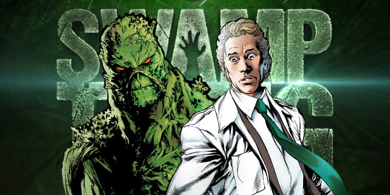 Alec Holland et Swamp Thing