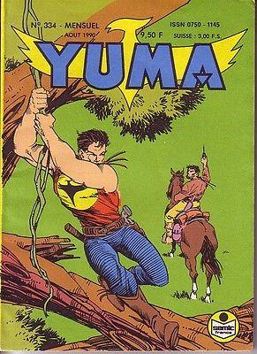 """Yuma n""""334 avec Zagor en couverture par Ciro Tota"""
