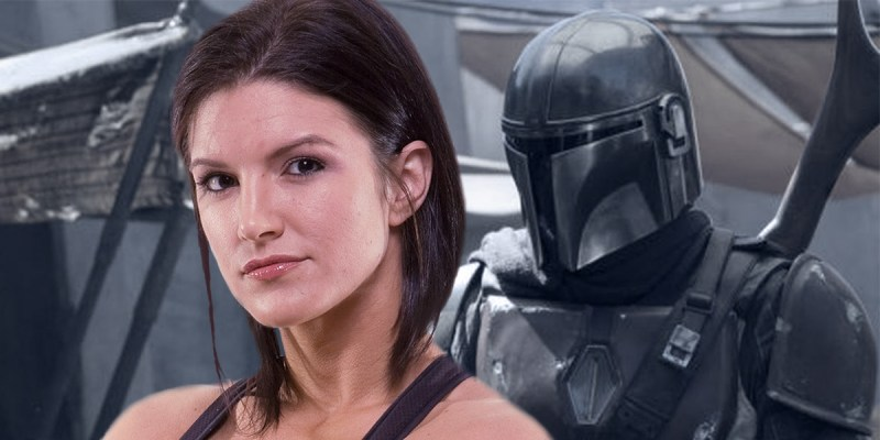 Gina Carano dans Star Wars: The Mandalorian