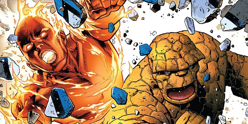 Marvel 2 in One - tome 01 : la Chose et la Torche humaine