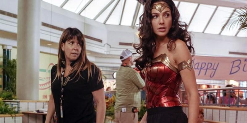 Patty Jenkins et Gal Gadot sur le tournage de Wonder Woman 1984