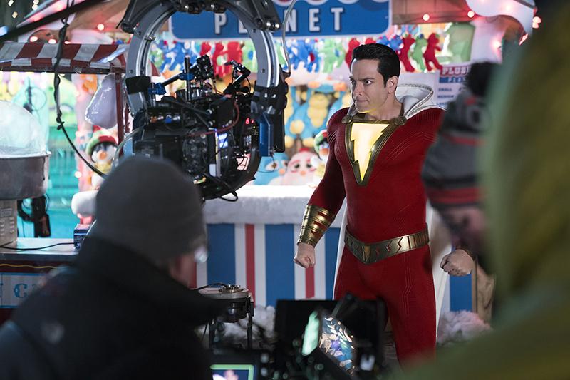 Zachary Levi dans Shazam!