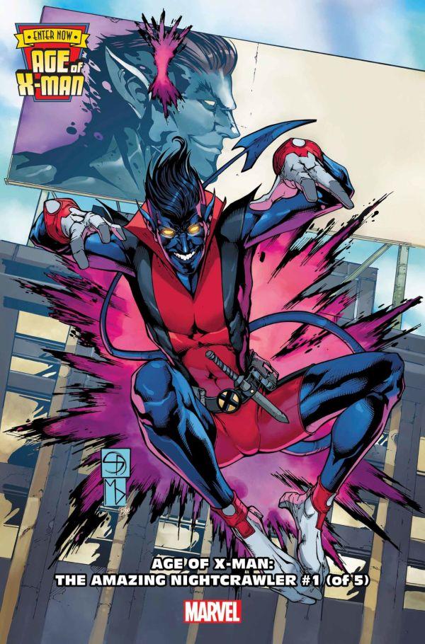 Age of X-Man: The Amazing Nightcrawler #1 par Shane Davis (Marvel Comics)