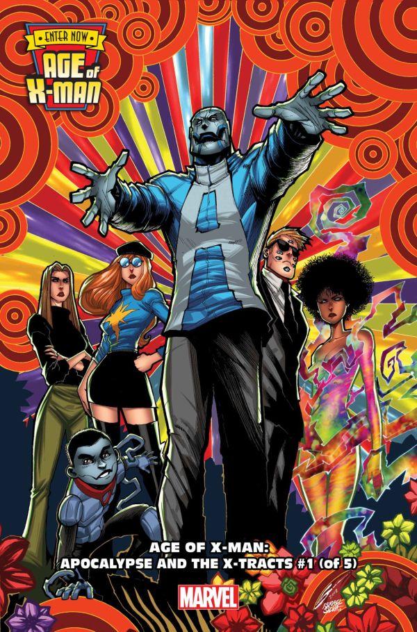 Age of X-Man: Apocalypse and the X-Tracts #1 par Gerardo Sandoval (Marvel Comics)