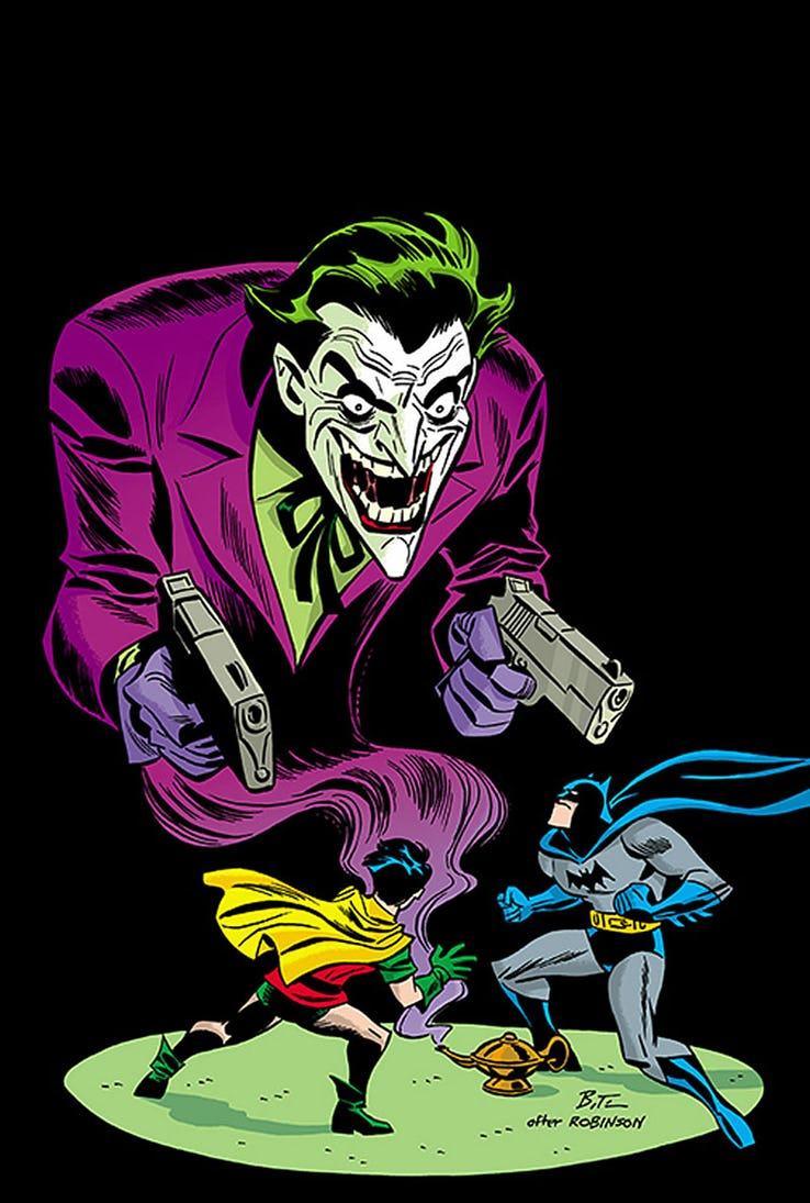 Detective Comics - Couverture alternative 1940 par Bruce Timm