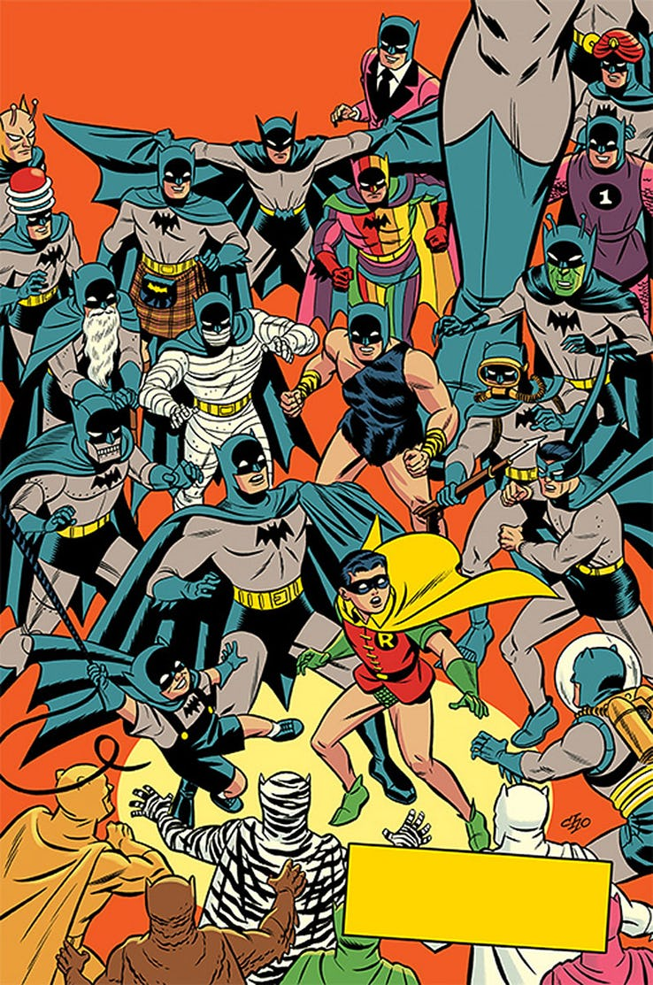 Detective Comics - Couverture alternative 1950 par Michael Cho