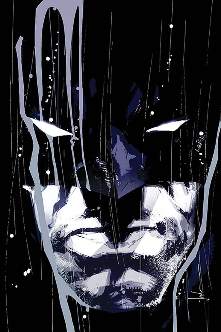Detective Comics - Couverture alternative 2000 par Jock