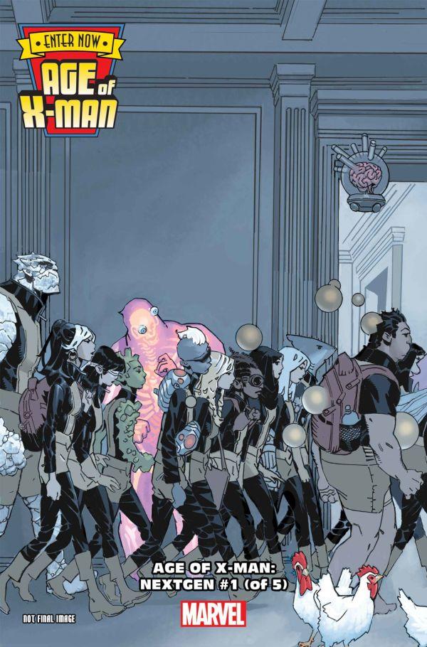 Age of X-Man: Nextgen #1 par Chris Bachalo (Marvel Comics)