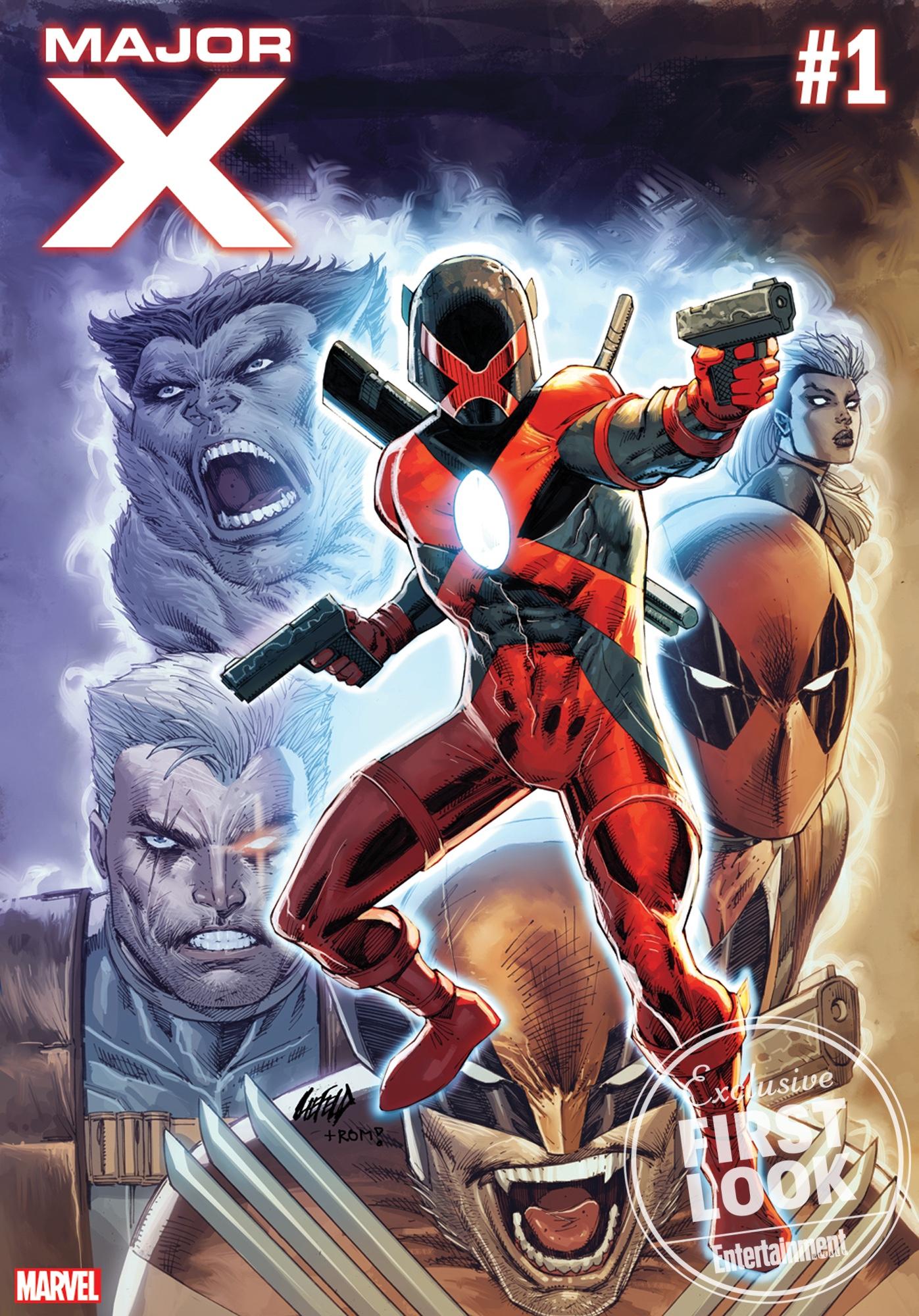 Major X #1 par Rob Liefeld