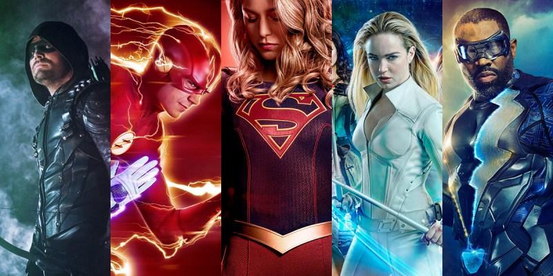 Arrow, The Flash, Supergirl, Legend of Tomorrow et Black Lightning