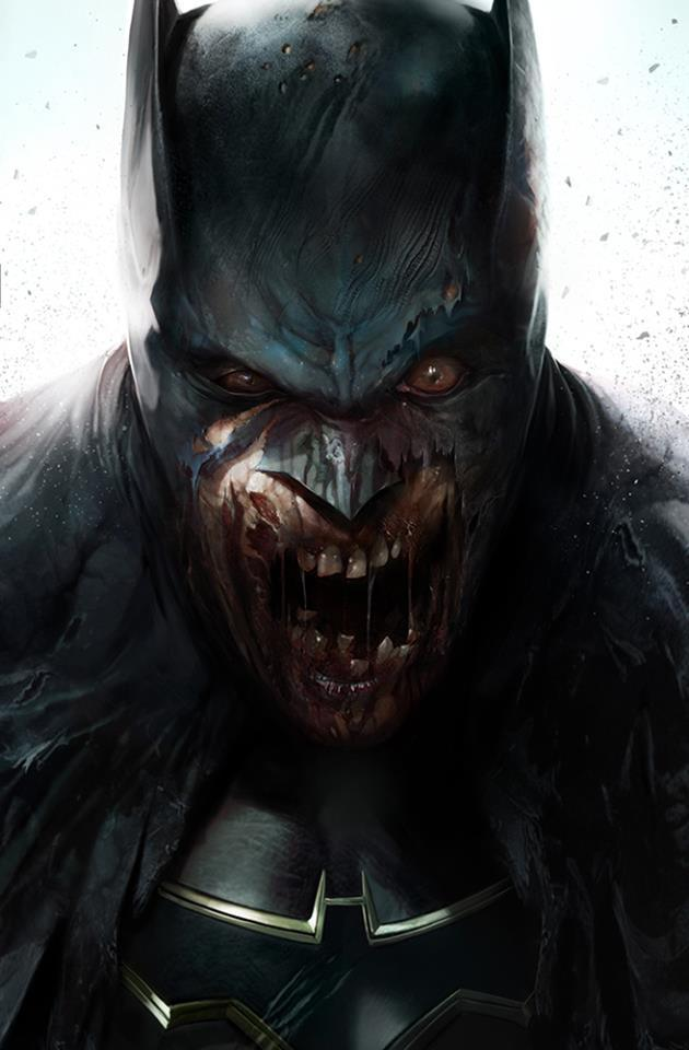 Couverture variante de DCeased #1 par Francesco Mattina (DC Comics)
