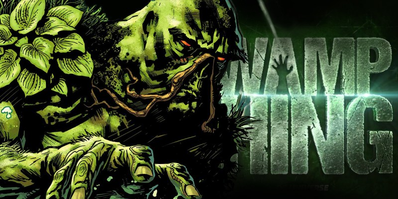 Swamp Thing sur DC Universe