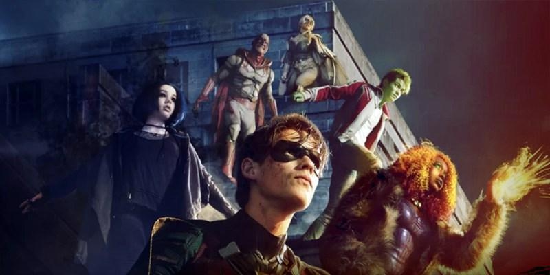 Titans sur DC Universe