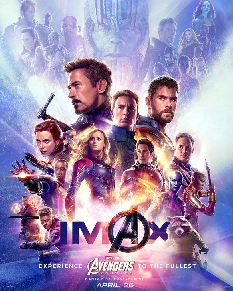 Avengers: Endgame - poster IMAX
