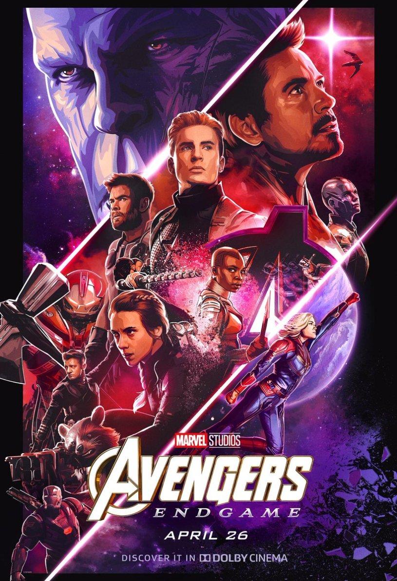 Avengers: Endgame - poster Dolby