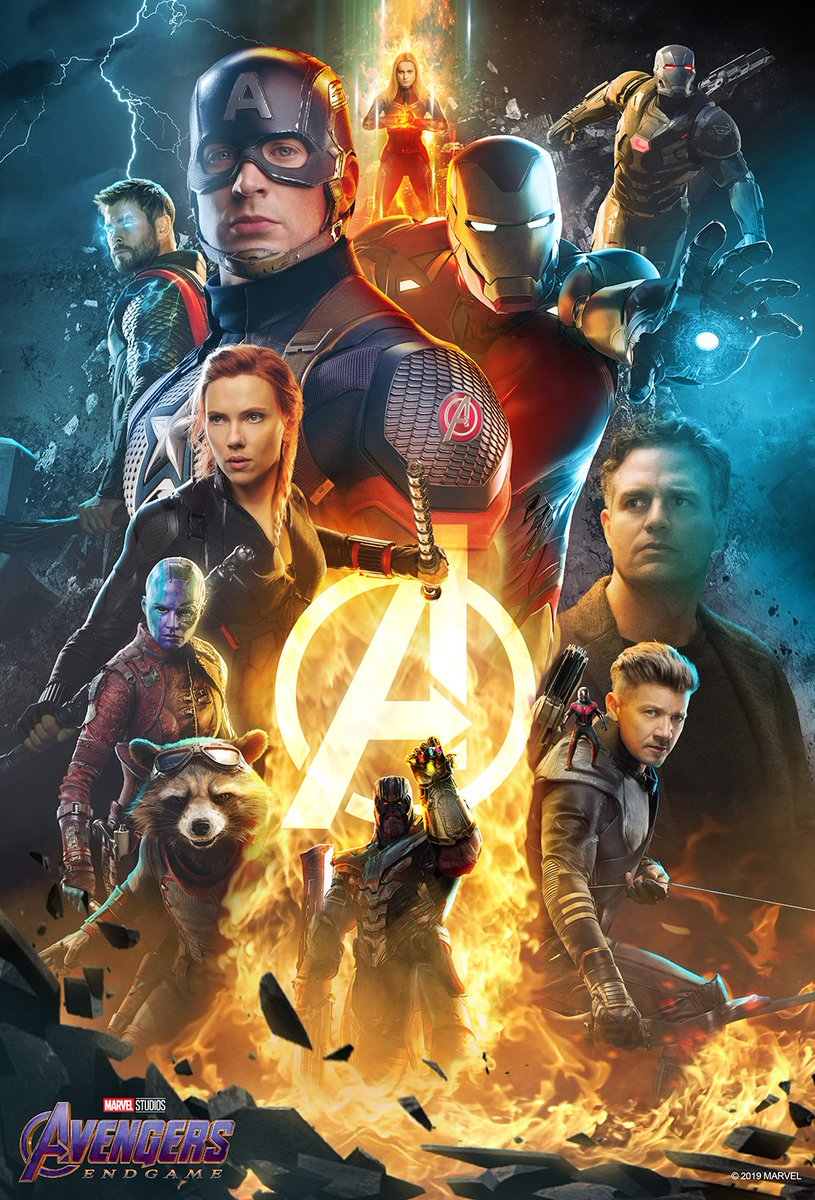 Avengers: Endgame - poster Atom Tickets