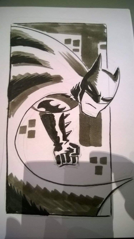 Batman par Cyril Bouquet alias SiB.