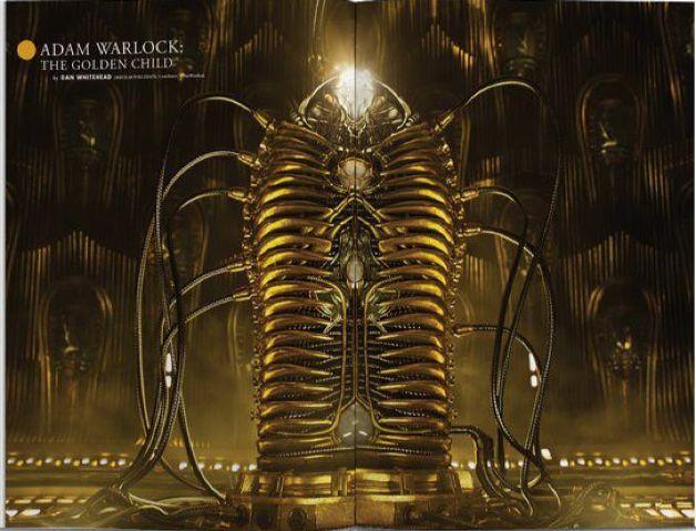 Adam Warlock, the golden child